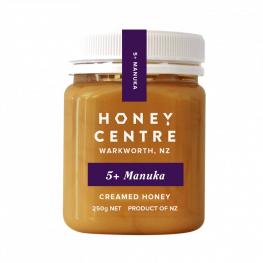 HONEY 5+ MANUKA CREAMED