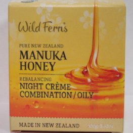 MANUKA HONEY REBALANCING NIGHT CR 100G